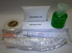 Aminities Paket 4 Sabun Shampo Dental Kit dan Shower Cup