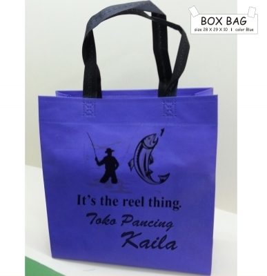 BOX BAG 28 X 29 X 10 BLUE TALI HITAM  large2