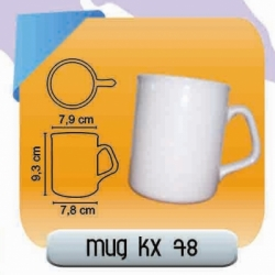 MUG KERAMIK DECAL KX78