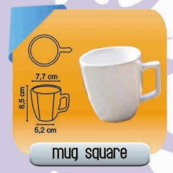 MUG KERAMIK SQUARE DECAL