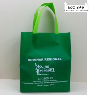 ECO BAG 27.5 X 29 X 10 GREEN  large2