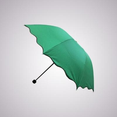 Grosir payung lipat Rosida Dimensi Gelombang Hijau  large2