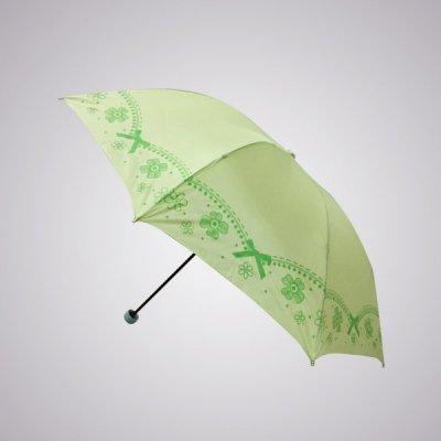 Grosir payung lipat pita Fatico hijau  large2