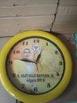 Jam Dinding Promosi Ring Kuning 30 cm