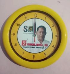 Jam Dinding Partai Bulan Bintang Hijau 30cm