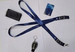 new id card promotion navy color 2 cm