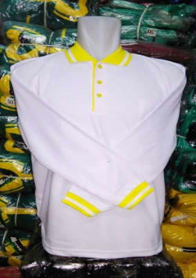 KAOS POLO PANJNAG LIST KENARI  large2
