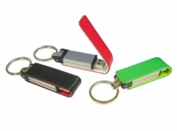 leather promotional usb flash drives Key Chains 8Gb