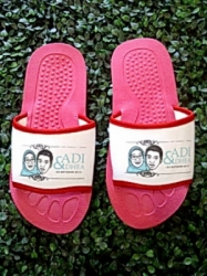 SANDAL SOUVENIR WEDDING ALAS PINK 10 MM