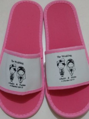SANDAL WEDDING PINK 4MM  large2