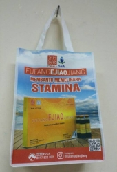 Tas Putih Logo Full Color 40x30x15cm