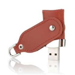 Leather USB Key Promotional