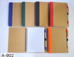 Notebook Polos Import set pen