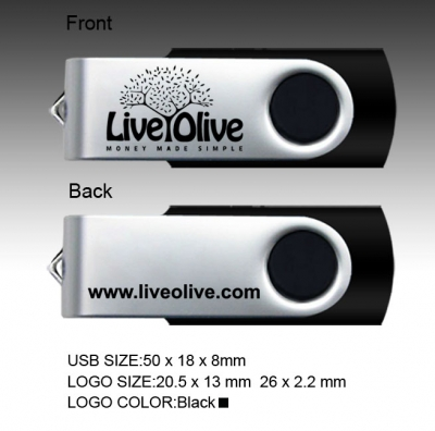 large2 usb swivel liveolive