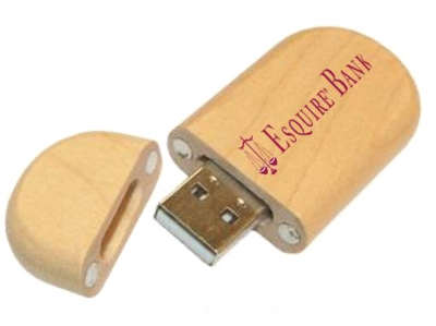 large2 usb wood key