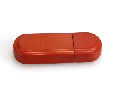 large2 Red wood usb flash stick 3