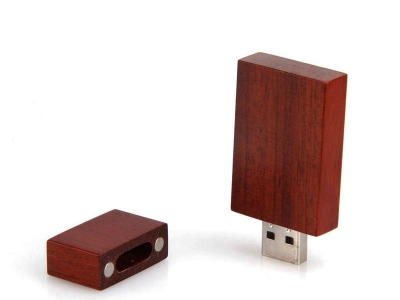 large2 usb wood red