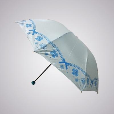 large2 Grosir payung lipat pita Fatico biru