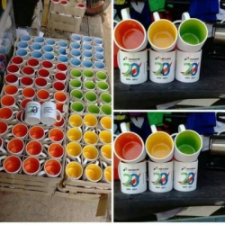 Mug Coating Import dalam Warna