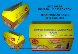 BOX PAPER FRIED CHICKEN NANDA