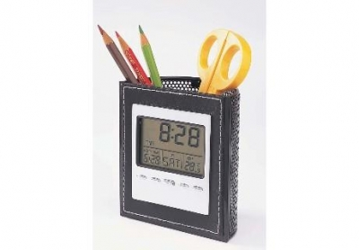 penholder clock penholder clock cw2157  large2