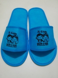 SANDAL SOUVENIR WEDDING FULL BIRU 4 MM