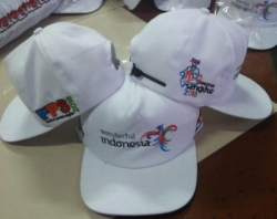 TOPI RHAPEL BORDIR LOGO WONDERFULL