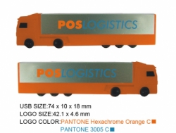 FLASH DISK TRUCK PLASTIC PROMOTION