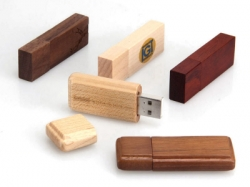 4GB wood usb storage with magnet