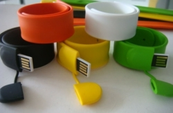 Flash Disk Wristband Silicone